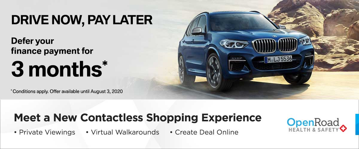 BMW Vancouver July Offer