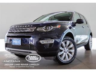 2015 Land Rover Discovery Sport HSE LUXURY