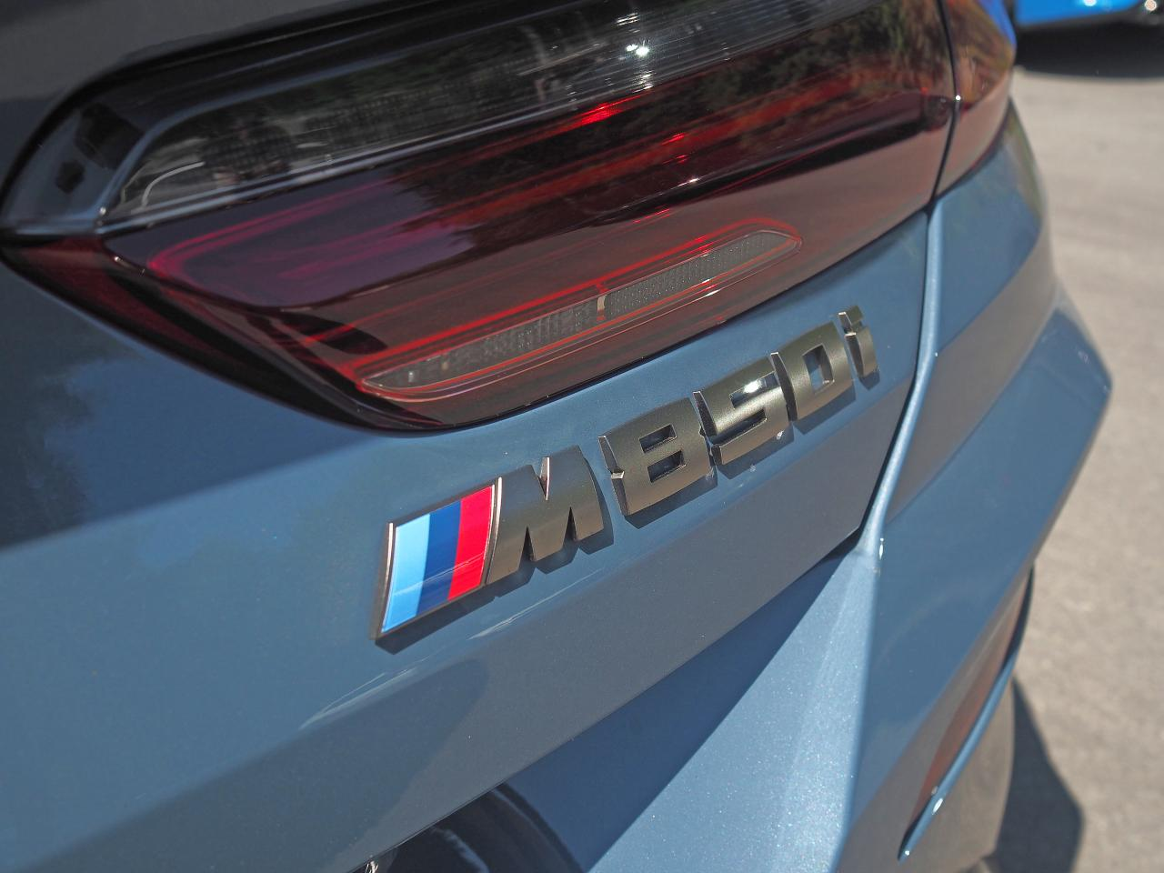 2019 bmw m850i badge