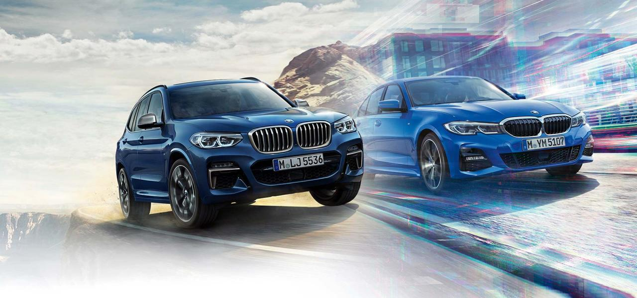$3,000 delivery credit on 2019 BMW 3 Series Sedans and X3 at The BMW Store