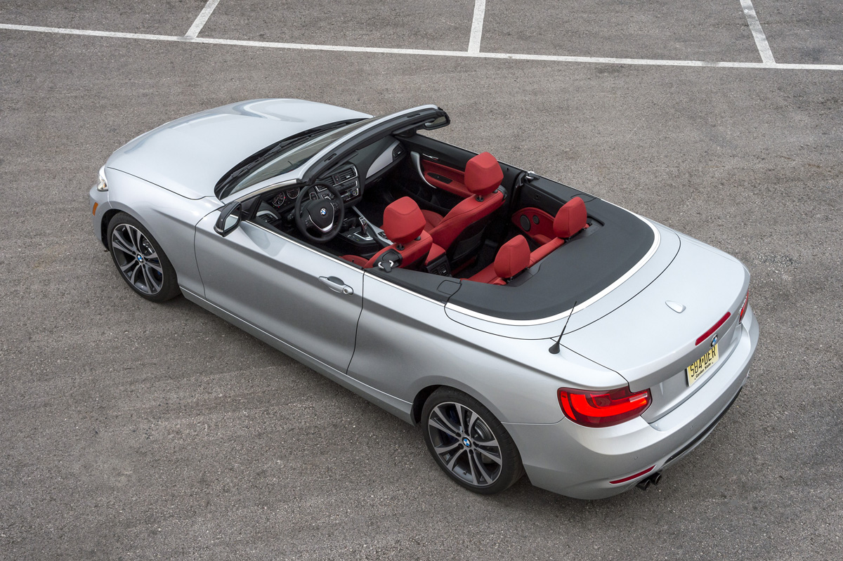 2015 BMW 228i Cabriolet above view