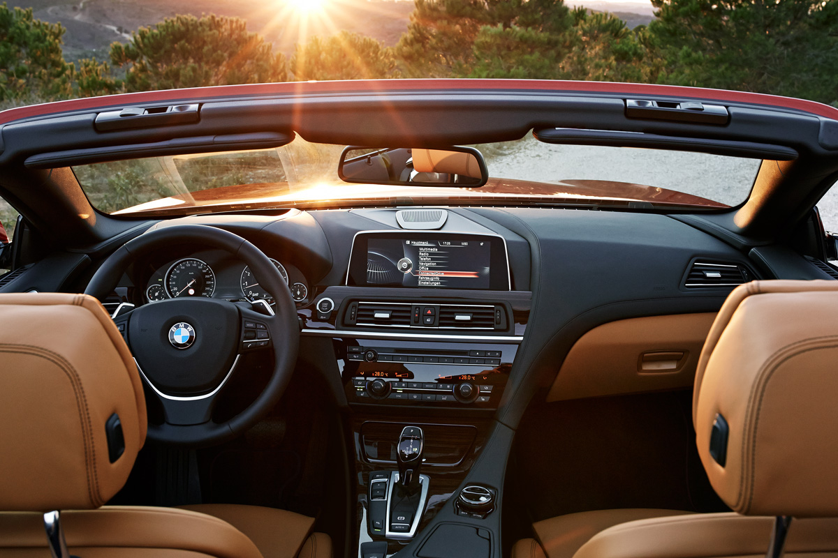 2015 BMW 650i Convertible interior
